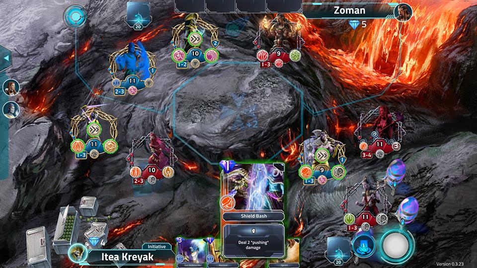 immagine di una battaglia player contro player di Albedon Wars